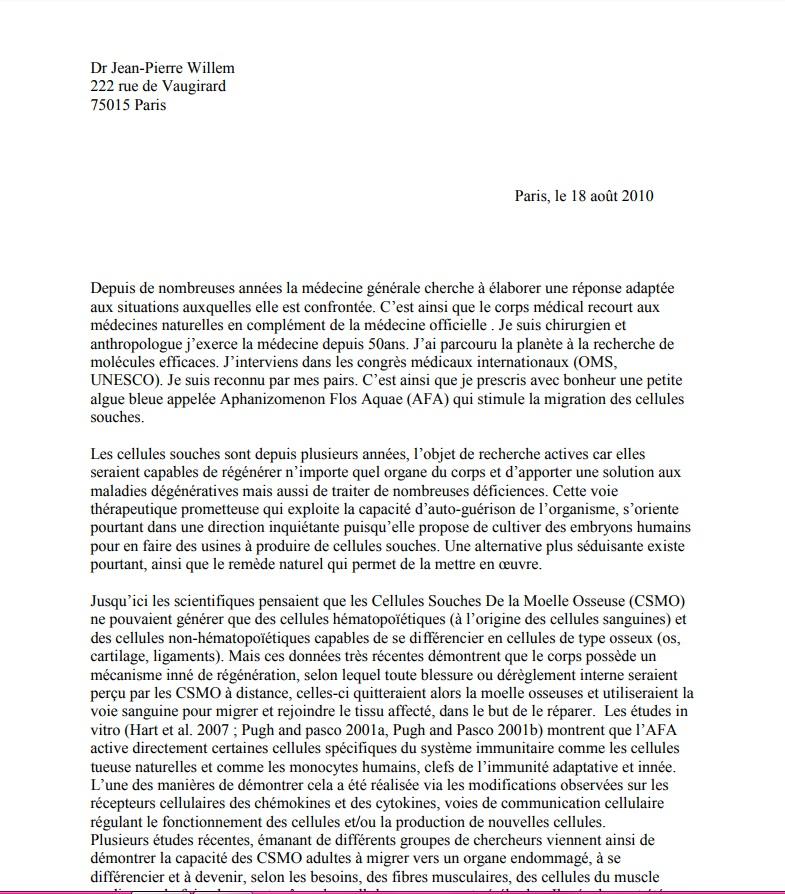 Dr jean pierre willem