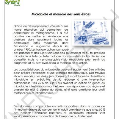 Microbiote et maladie des liens etroits 3