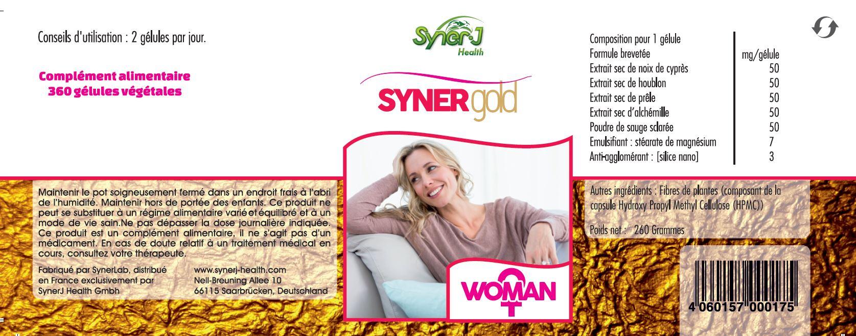 Synergold woman etiquette
