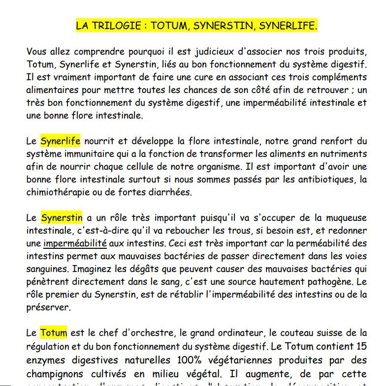 Synerstin totum synerlife 1